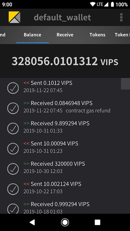 Release of Electrum-VIPS for Android