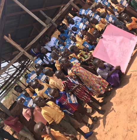 Ghana donation campaign
