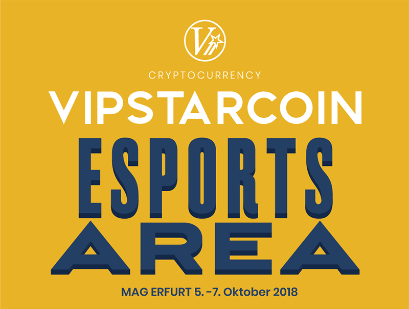 Announcement of MAG2018 VIPSTARCOIN Esports Area