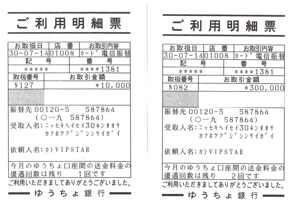 Report of donation for earthquake in Osaka